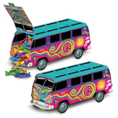 60's Bus Centerpiece (Set of 3) THDA8252 43620703