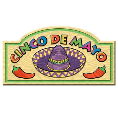 Fiesta Cinco De Mayo Sign (Set of 6)
