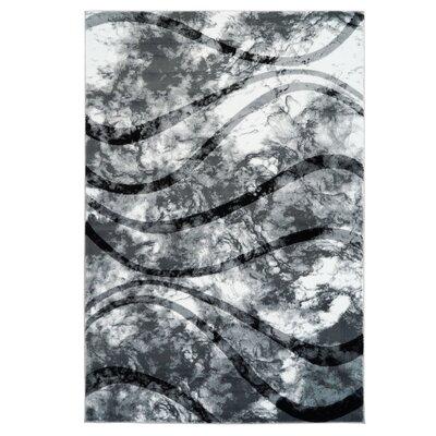 Durango Gray Area Rug Rug Size: 311 x 53