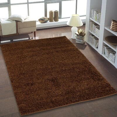 Truxton Brown Area Rug Rug Size: 65 x 95