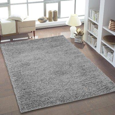 Truxton Gray Area Rug Rug Size: 52 x 75