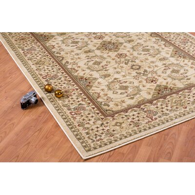 Austell Cream Area Rug Rug Size: Rectangle 27 x 411