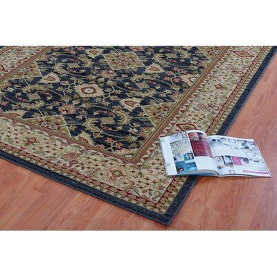 Austell Dark Gray Area Rug Rug Size: Rectangle 27 x 411