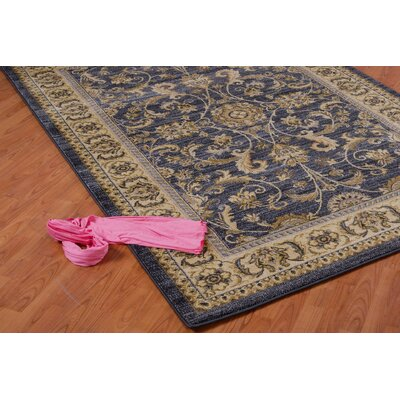 Austell Gray/Cream Area Rug Rug Size: 52 x 75