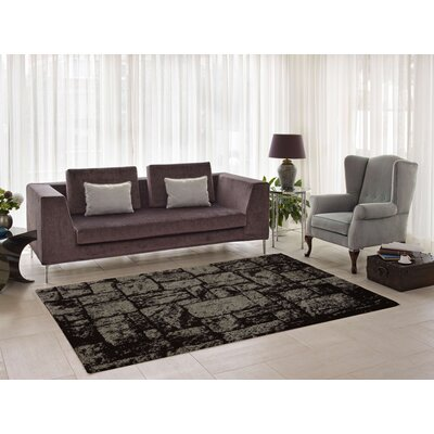 Nehemiah Patch Brown Indoor Area Rug Rug Size: 65 x 95