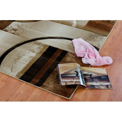 Collier Beige Area Rug Rug Size: Rectangle 27 x 411