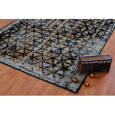Finley Gold Area Rug Rug Size: 65 x 95