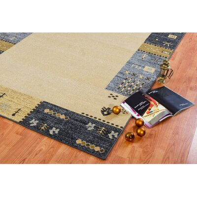 Celie Cream Area Rug Rug Size: Runner 27 x 411