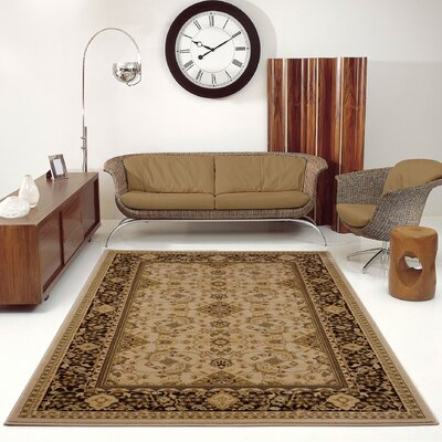 Austell Brown Area Rug Rug Size: 52 x 75