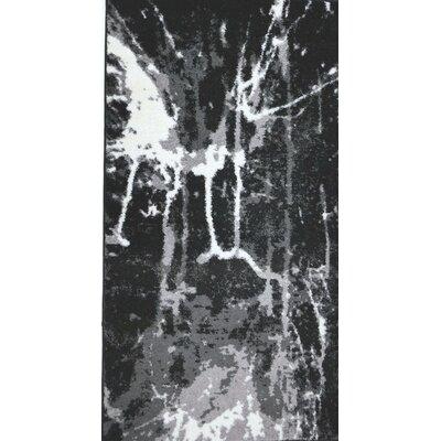 Anise Black/White Area Rug Rug Size: Rectangle 27 x 411