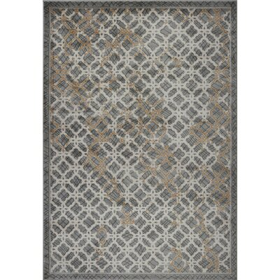 Jeannetta Gray Area Rug Rug Size: Rectangle 27 x 411