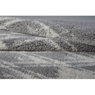 Charters Towers Gray Area Rug Rug Size: 66 x 96