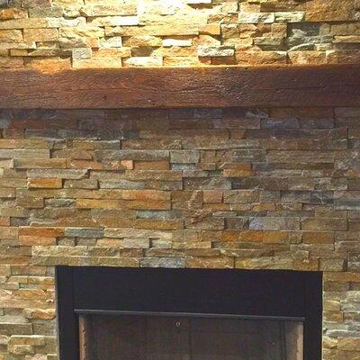 Reclaimed Barn Beam Fireplace Mantel Shelf 8Z-TWV5-2FIR