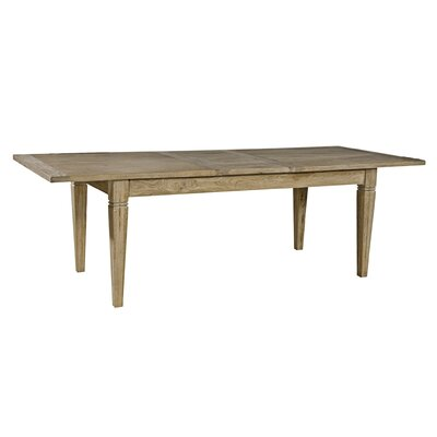 Butterfly Leaf Extendable Dining Table