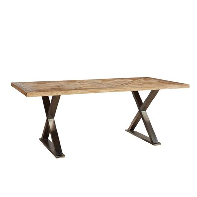Stainless Cross Leg Dining Table