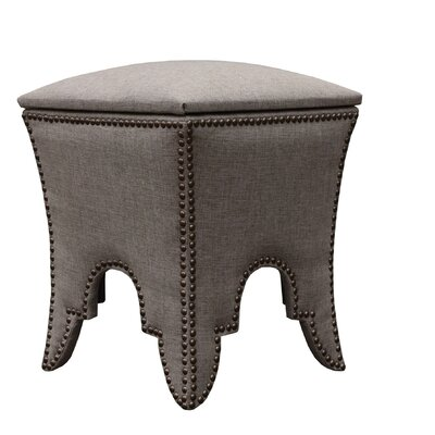 Ottoman Upholstery: Taupe
