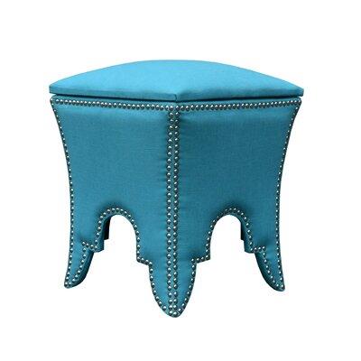 Ottoman Upholstery: Teal