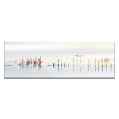 'The Boat' Photographic Print on Wrapped Canvas Size: 12