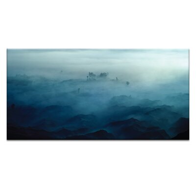 'Land Beyond' Photographic Print on Wrapped Canvas Size: 12.9