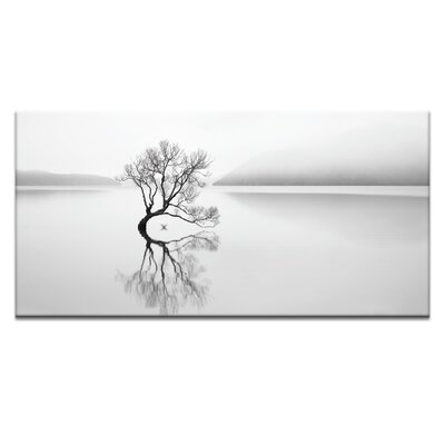 'Serenity' Photographic Print on Wrapped Canvas Size: 12.9