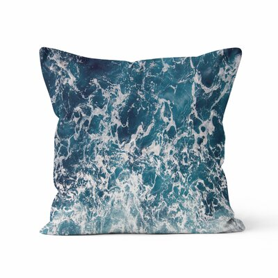 Ocean Throw Pillow Size: 16 H x 16 W x 3 D