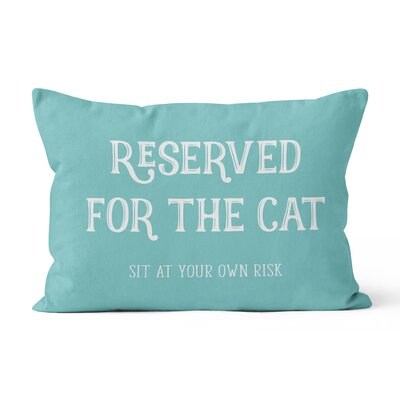 Reserved for the Cat Lumar Pillow
