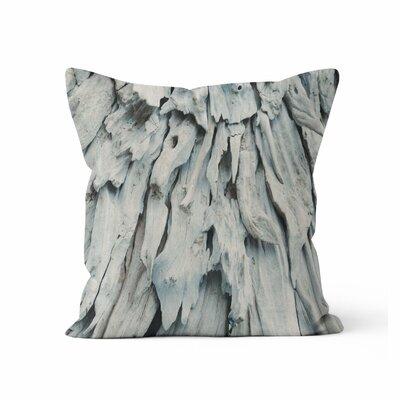 Drift Wood Throw Pillow Size: 16