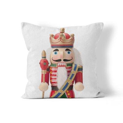 Nutcracker Throw Pillow Size: 18 H x 18 W x 3 D