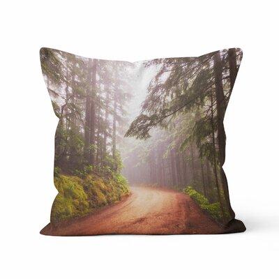 Autumn Forest Throw Pillow Size: 18 H x 18 W x 3 D