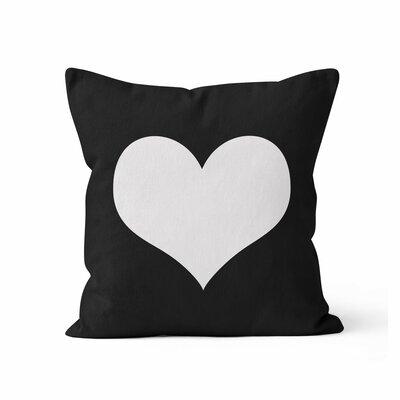 Heart Throw Pillow Size: 18 H x 18 W x 3 D