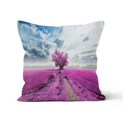 Tree Throw Pillow Size: 18 H x 18 W x 3 D