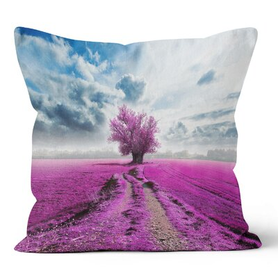 Tree Throw Pillow Size: 18 H x 18 W x 3 D