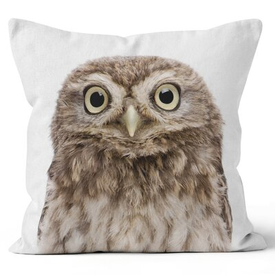 Owl Throw Pillow Size: 18 H x 18 W x 3 D