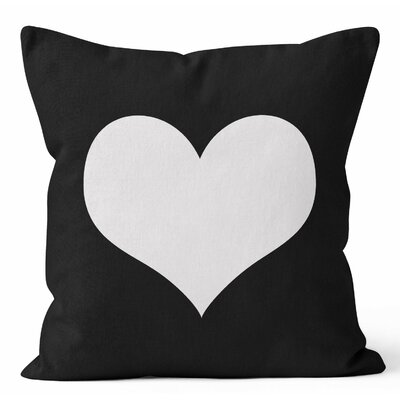 Heart Throw Pillow Size: 18 H x 18 W x 3 D
