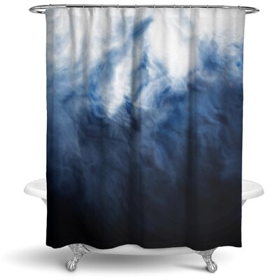 Claus Abstract Storm Shower Curtain