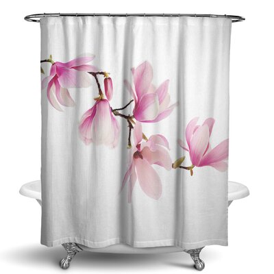 Sudhir Magnolia Shower Curtain