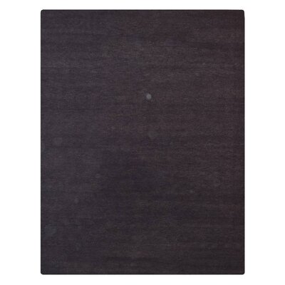 Hand-Knotted Purple Area Rug Rug Size: 8 x 10