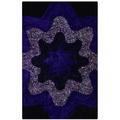 Ry Hand Tufted Flat Surface Blue Area Rug