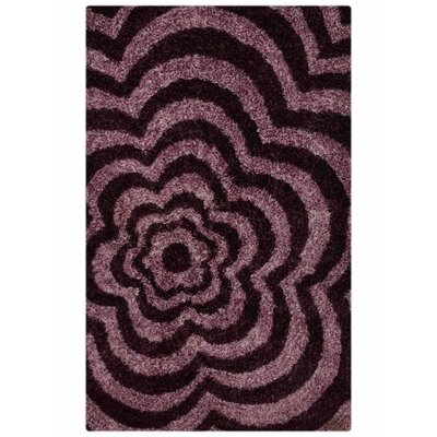 Ry Hand Tufted Purple Area Rug