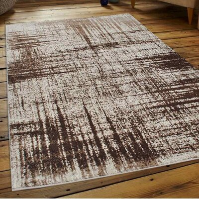 California City Beige Area Rug Rug Size: 34 x 5