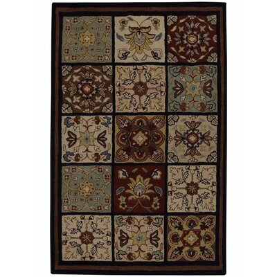 Hand-Tufted Beige Area Rug Rug Size: 8x10