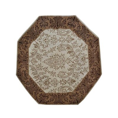 Cornelia Hand-Tufted Wool Beige/Brown Area Rug