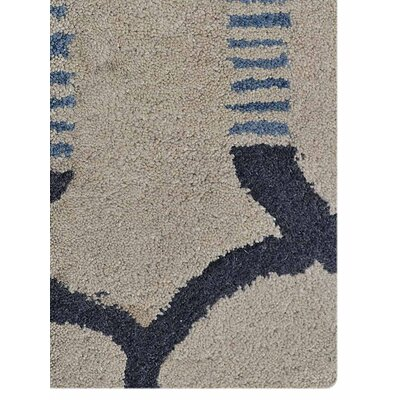 Annunziata Hand-Tufted Wool Cream/Gray Area Rug