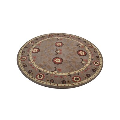 Crystal Hand-Tufted Wool Beige Area Rug