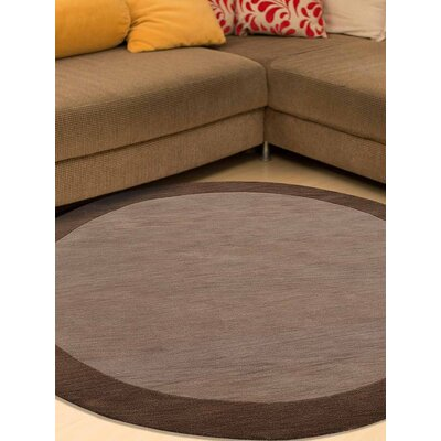 Angleterre Hand-Tufted Wool Beige/Brown Area Rug