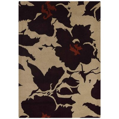 Karlee Hand-Tufted Wool Beige/Brown Area Rug