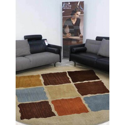 Kala Hand-Tufted Wool Cream Area Rug