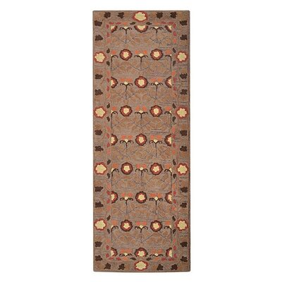 Jaimie Hand-Tufted Wool Beige Area Rug