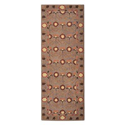 Jaimie Hand-Tufted Wool Beige Area Rug
