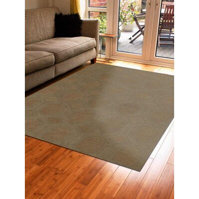 Cornell Hand-Tufted Wool Beige Area Rug